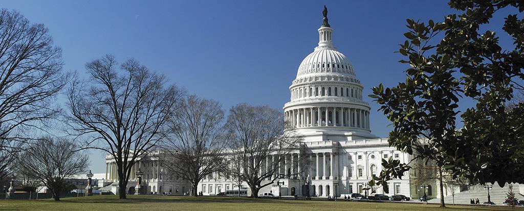 US Capitol Building, the Tax Cuts and Jobs Act repeals DPAD